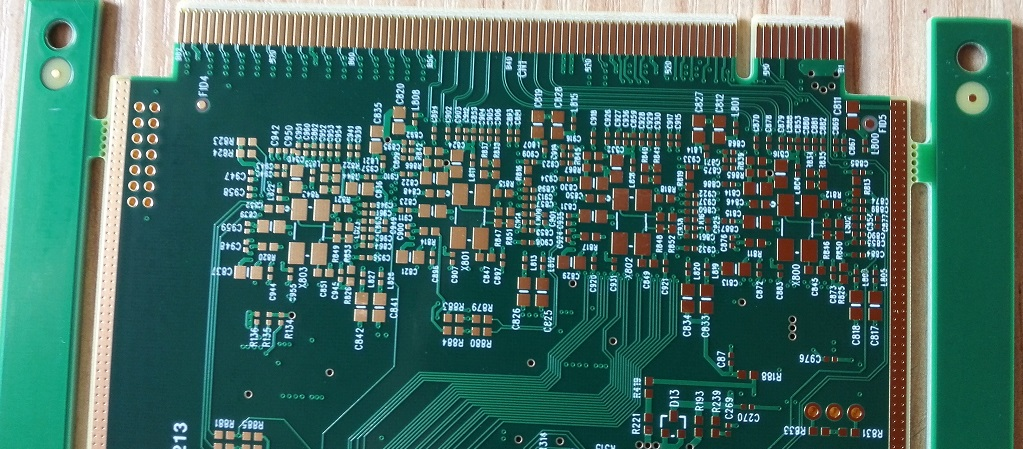 Board Edge Connector Printed Circuit Board Gold Finger